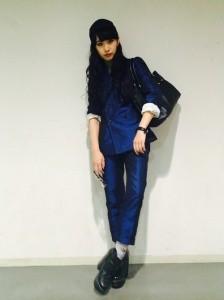 中田クルミファッション
